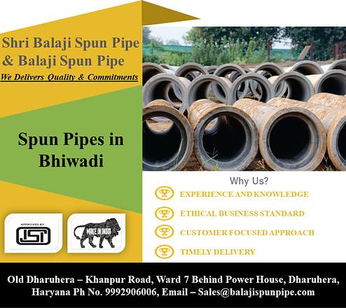 Spun pipes in Bhiwadi