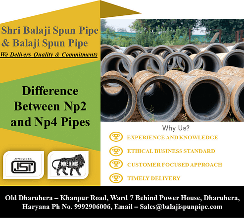 Difference between np2 and np4 pipes